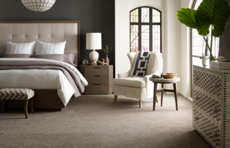 Shaw carpet master bedroom