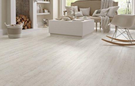 Karndean white vinyl flooring