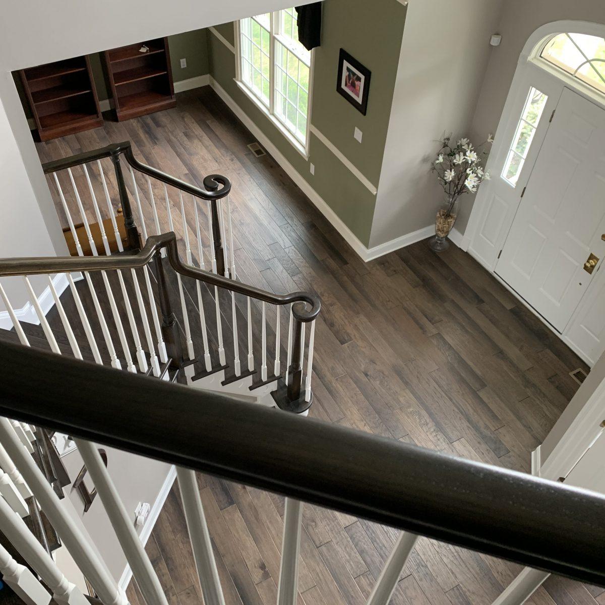Alexandria, NJ - Hardwood flooring installation