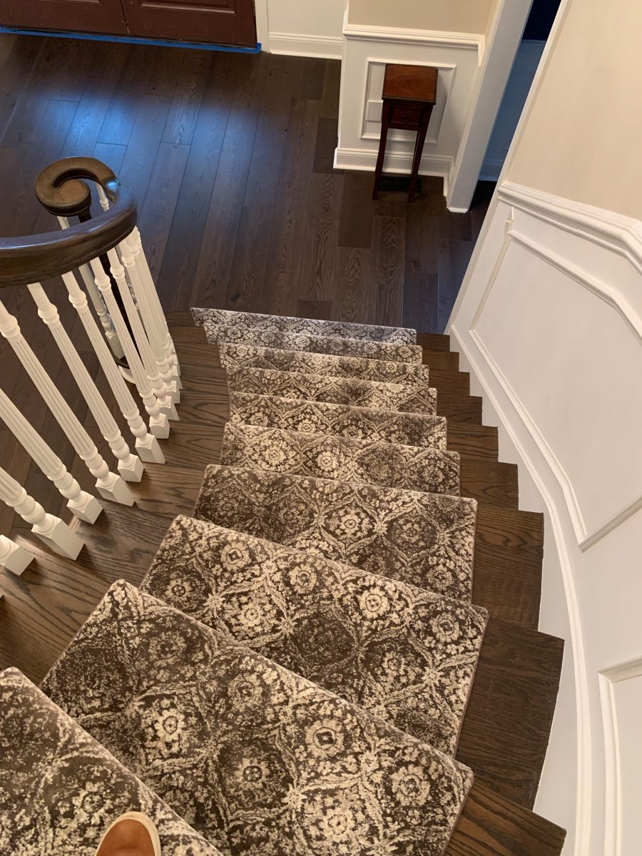 Custom Stair Runner Mendham NJ