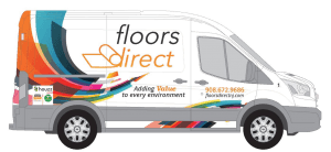 Floors Direct Shop at Home carpet van