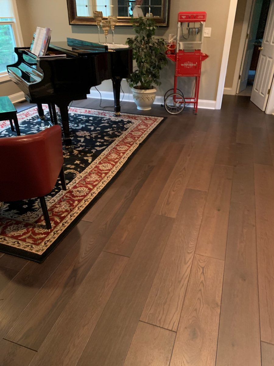 flooring installation project Mendham NJ