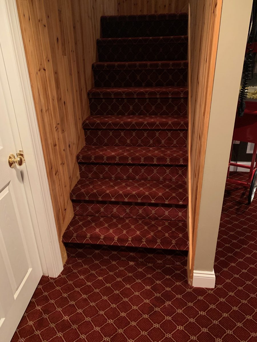 Stanton Carpet on Stairs