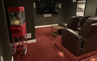 Theater Room Carpet-Mendham-NJ