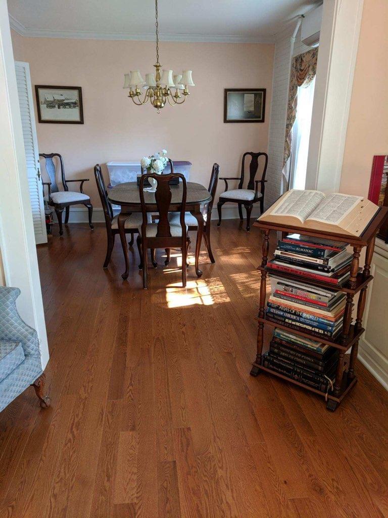 Lauzon Solid Hardwood Flooring Installation in Montville, NJ