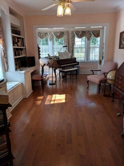 Hardwood flooring installation project Montville, NJ