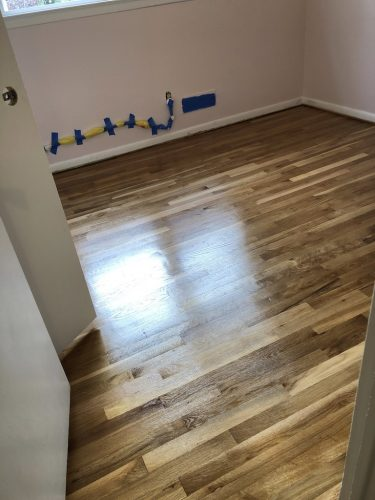 hardwood floor refinishing after
