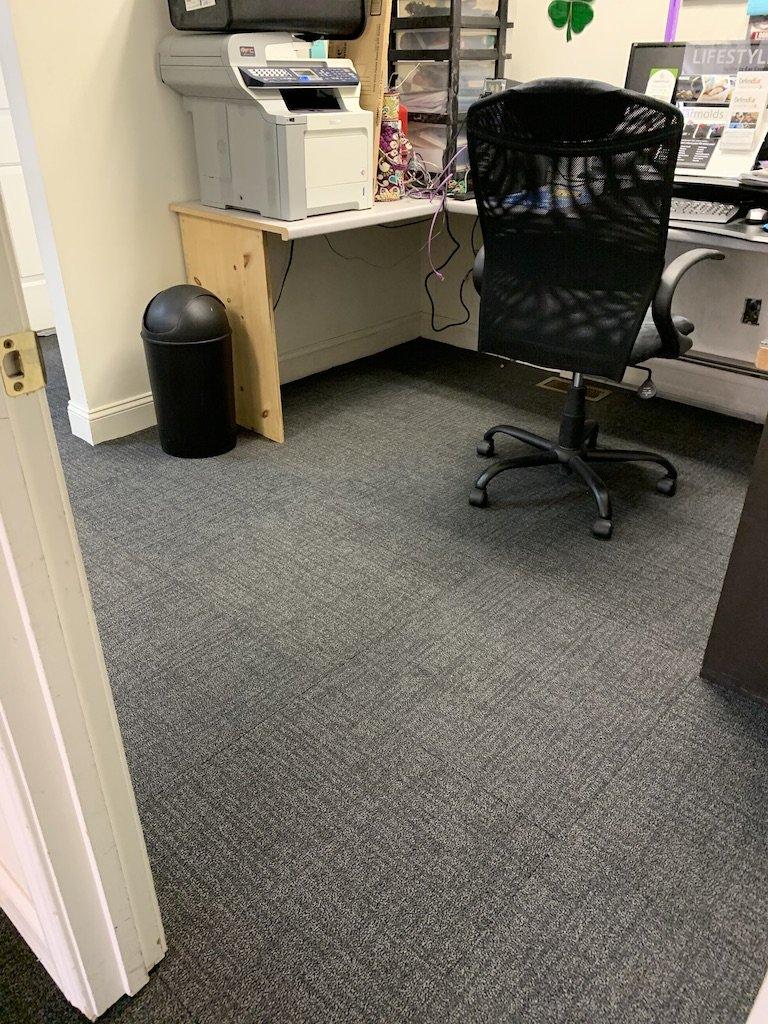 carpet tile office flooring