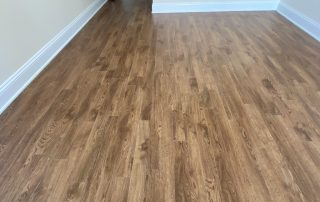 Glue down vinyl plank in bedroom