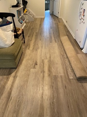 vinyl install flooring mendham