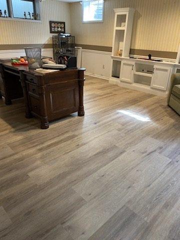 menham NJ rec room flooring after