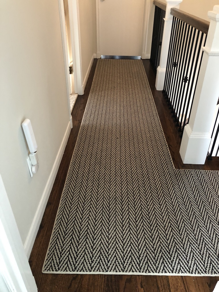 Custom Tuftex hallway Runner Caldwell NJ