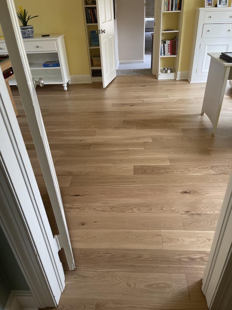 Homerwood Pre-finished Engineered Hardwood Installation